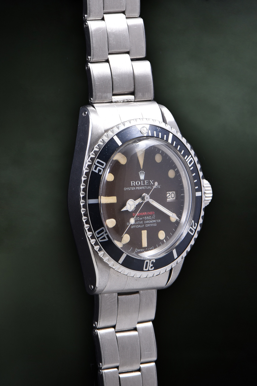 "Rolex Submariner Ref. 1680 ""Scritta Rossa Tropical"""