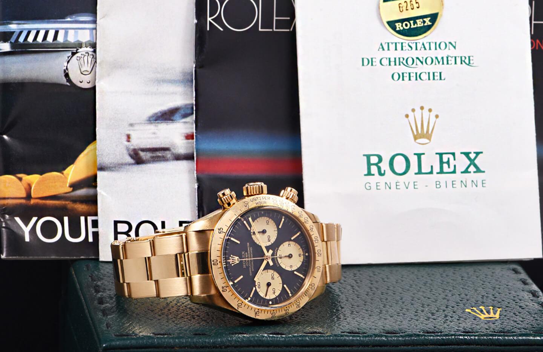 "Rolex Daytona Ref. 6265 ""Oro Giallo"""