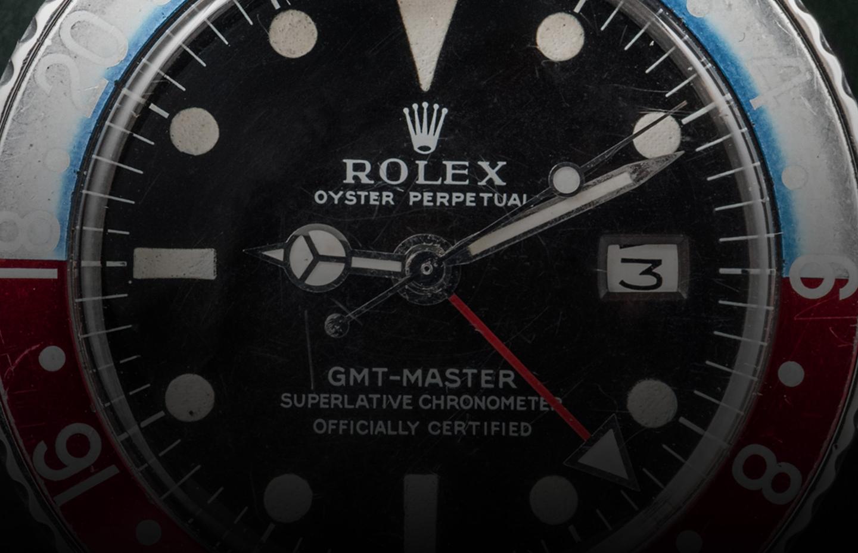Rolex GMT Master Long E Ref. 1675