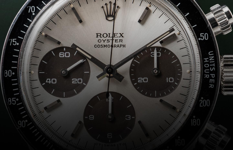 Rolex Daytona Ref. 6263 Compax Brown