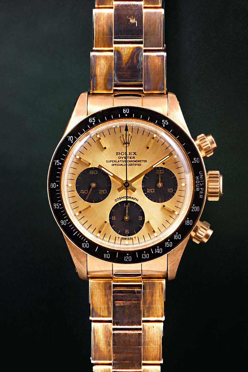 Rolex Daytona Ref. 6263 Gold
