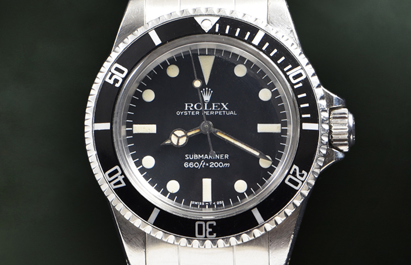 Rolex Submariner Maxi Dial Mark IV Ref. 5513