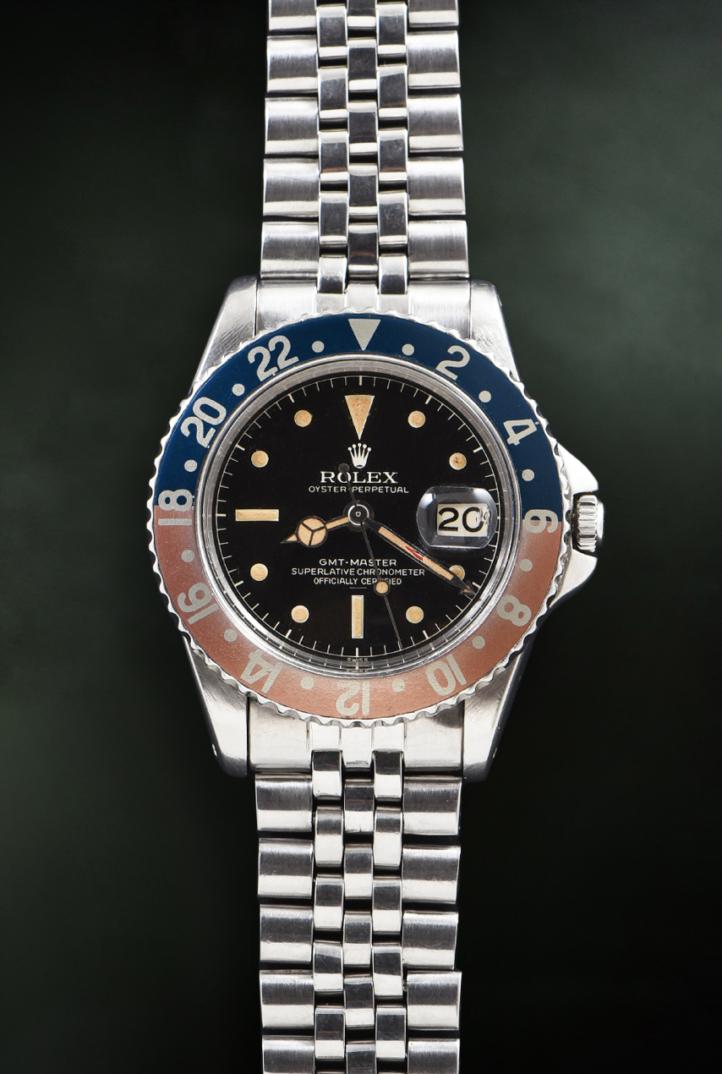 Rolex GMT Master Underline Ref. 1675