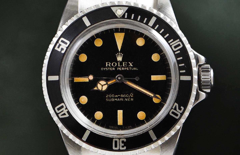 Rolex Submariner Gilt Ref. 5513
