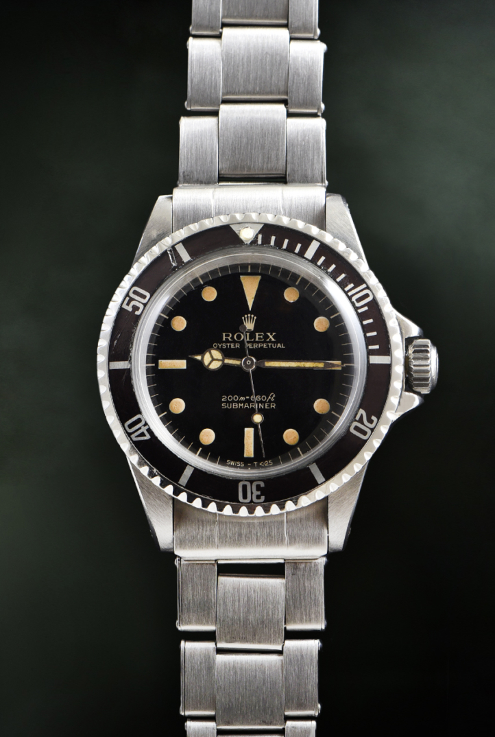 Rolex Submariner Gilt Ref. 5513