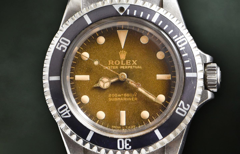 """Rolex Submariner """"Tropicale"""" Ref. 5513"""