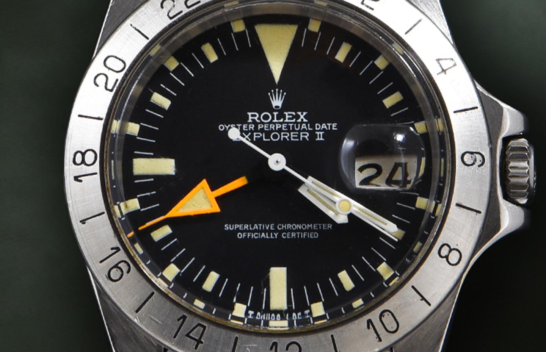 """Rolex Explorer """"Freccione"""" Ref. 1655"""
