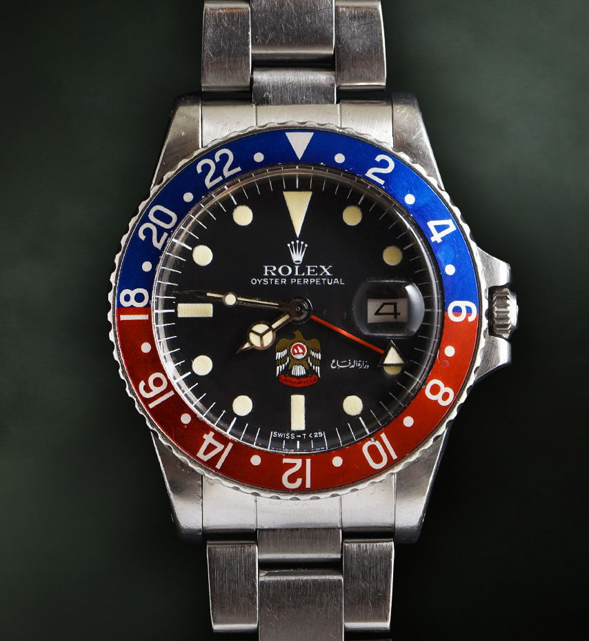 Rolex GMT Master UAE Eagle Ref. 1675