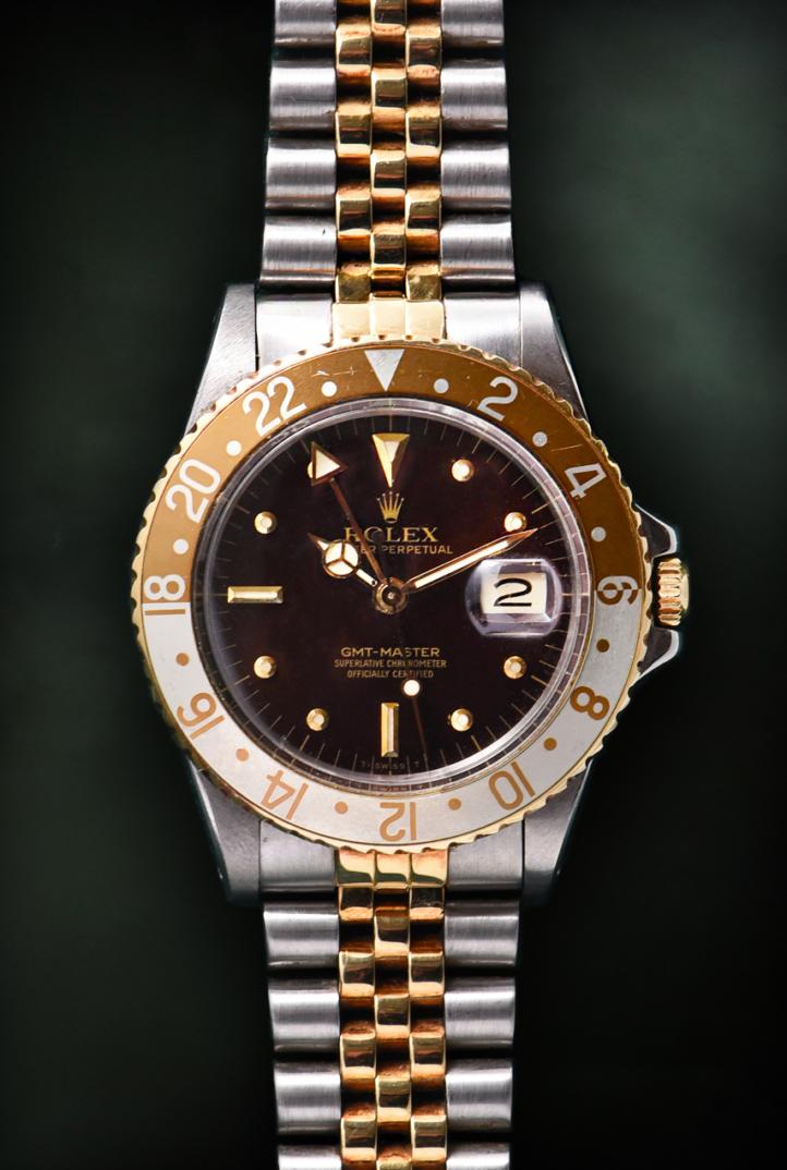Rolex GMT Master Occhio di Tigre Ref. 16753