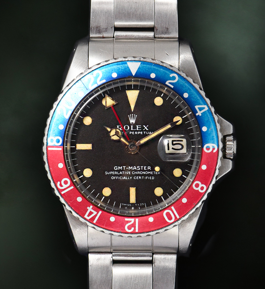 Rolex GMT Master Long E Brown Ref. 1675