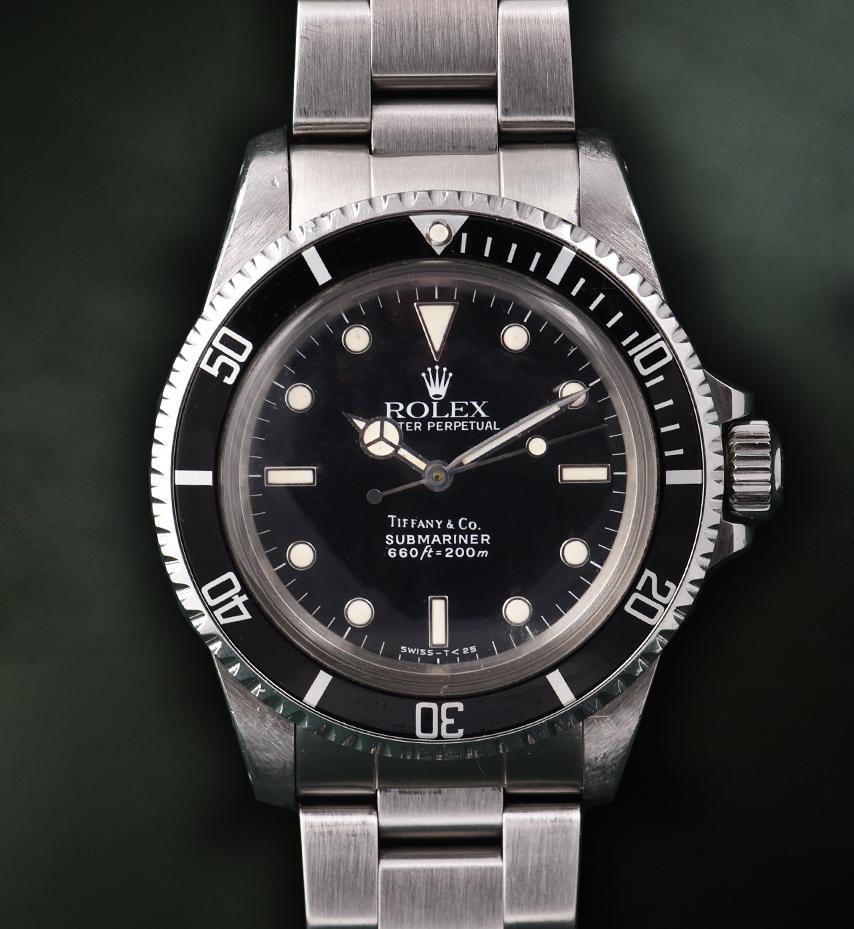 Rolex Submariner Tiffany Ref. 5513