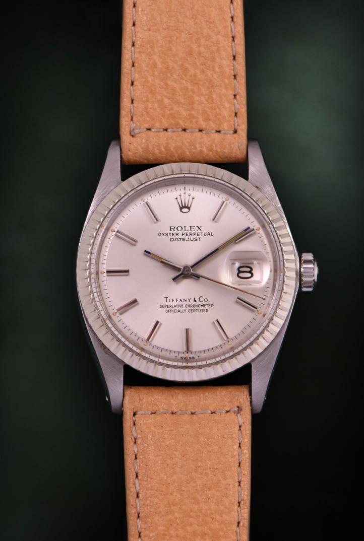 Rolex Datejust Tiffany Ref. 1601