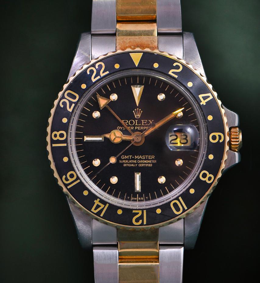 Rolex GMT Master Nipple dial Ref. 1675
