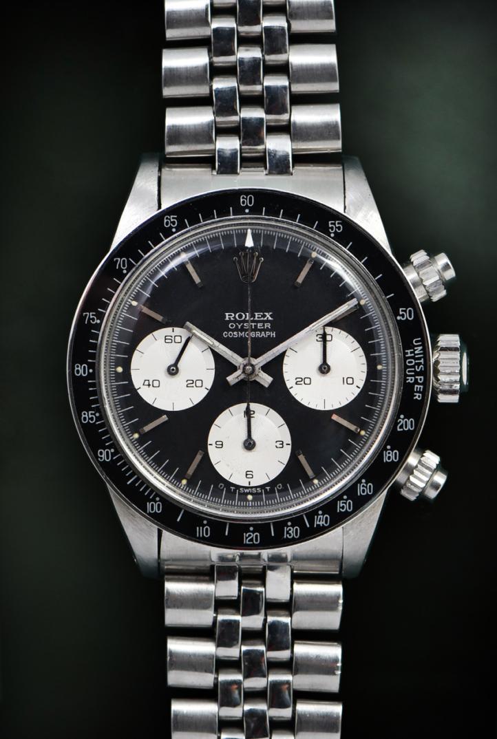 Rolex Scritte Argentate Ribassate Ref. 6263