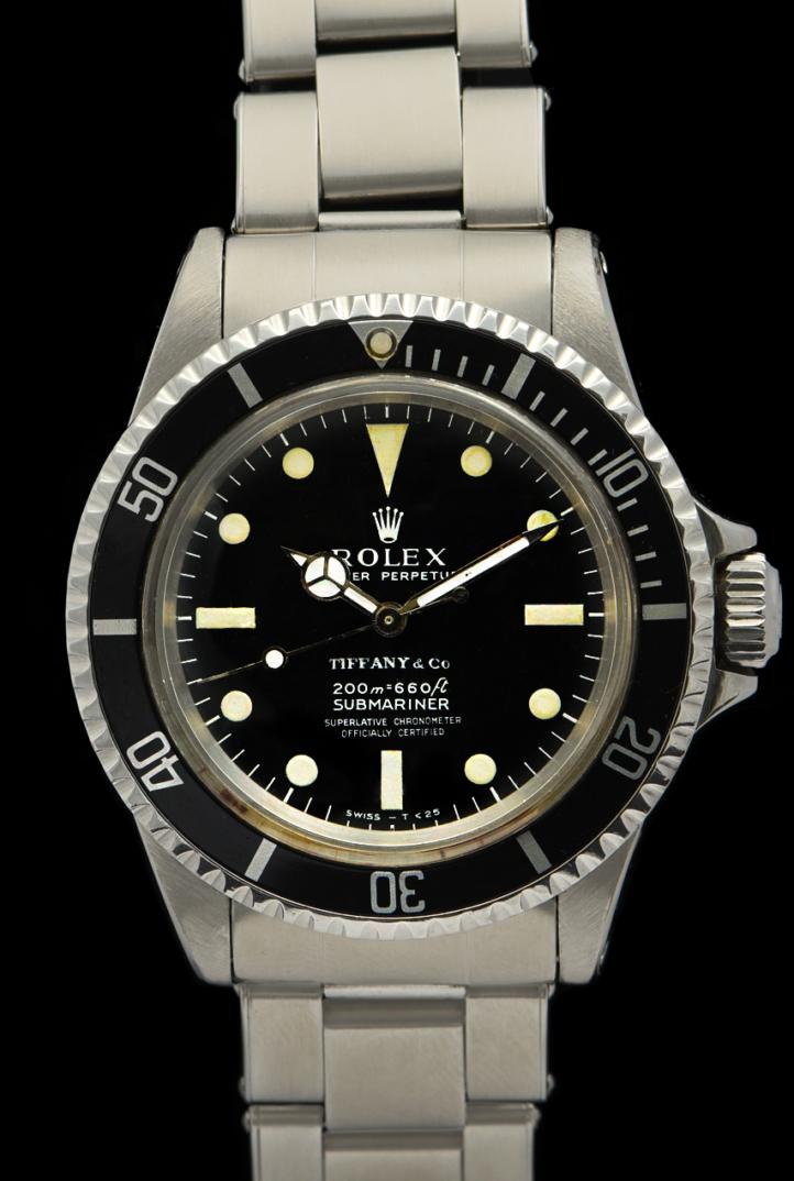 Rolex Submariner Tiffany Ref. 5512